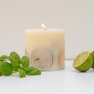 Botanical Lime and Basil Candle