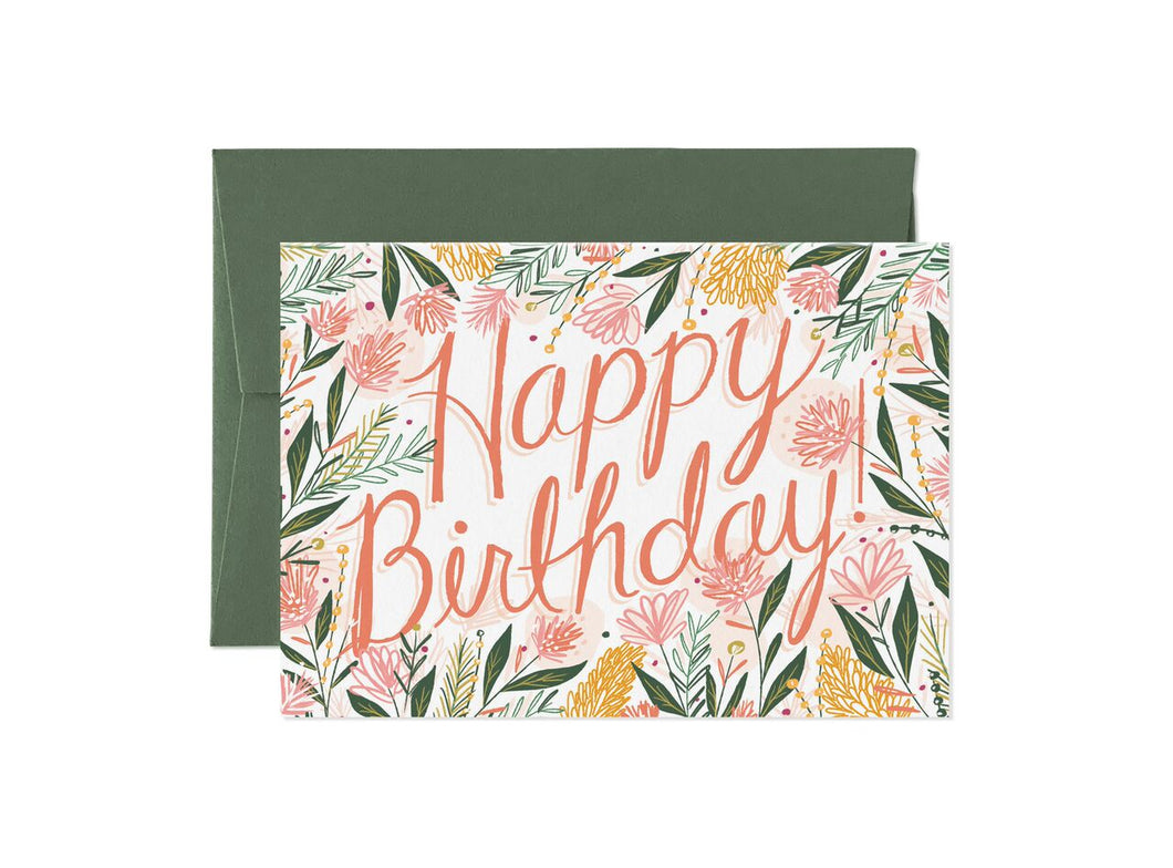 In Bloom - Happy Birthday 1 Card