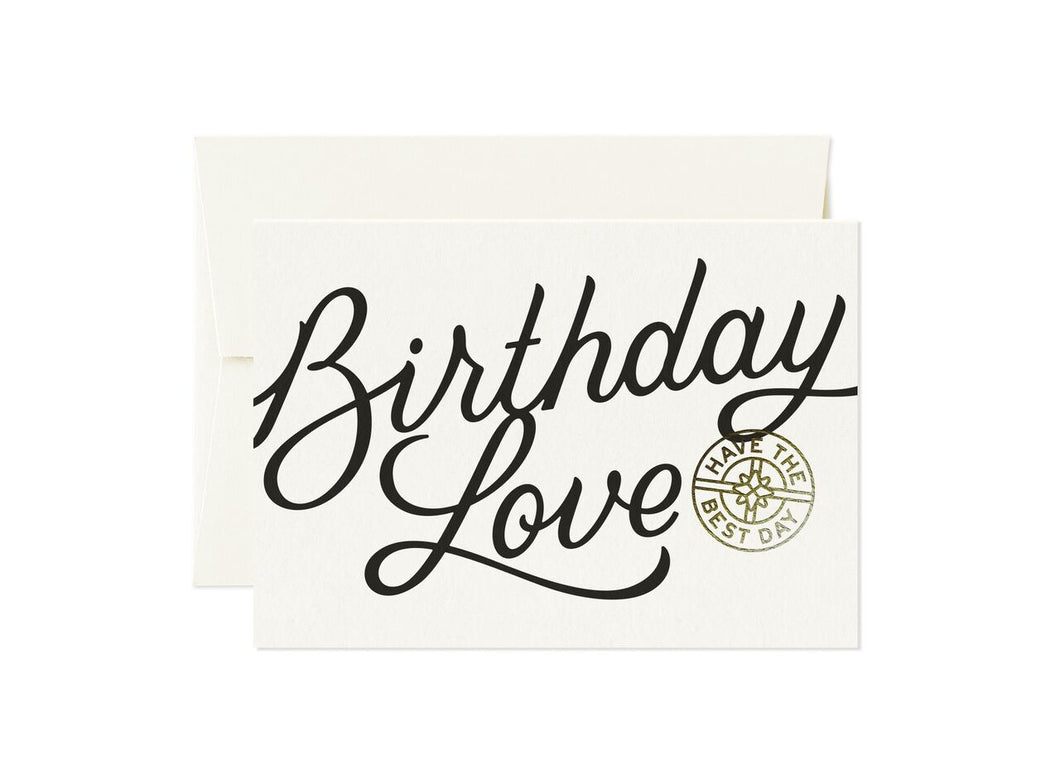 Totally - Birthday Love Card