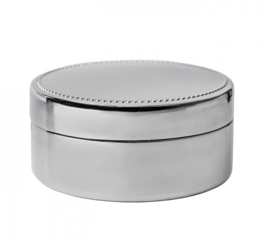 Connell Round Nickel Box