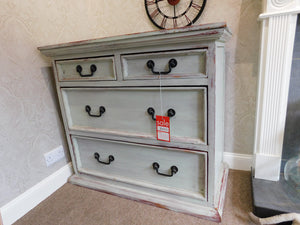 Green Chest of Drawers