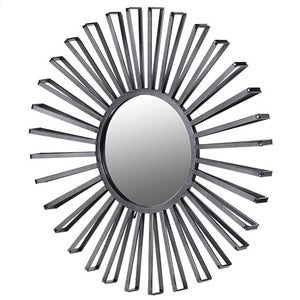 Iron Sunburst Wall Mirror