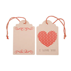 Heart Swing Tag