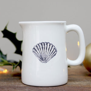Scallop Mini Jug