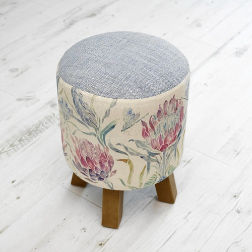 Monty Footstool by Voyage - Protea