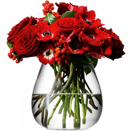 Glass Table Bouquet Vase