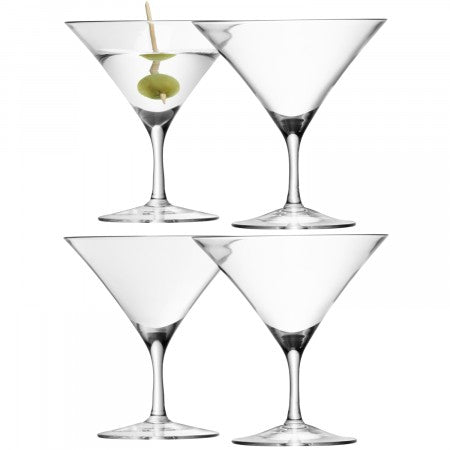 Martini Glass x 4