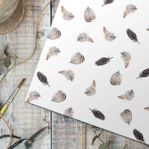 Feather Gift Wrap