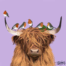 Highland Coo Christmas Cards
