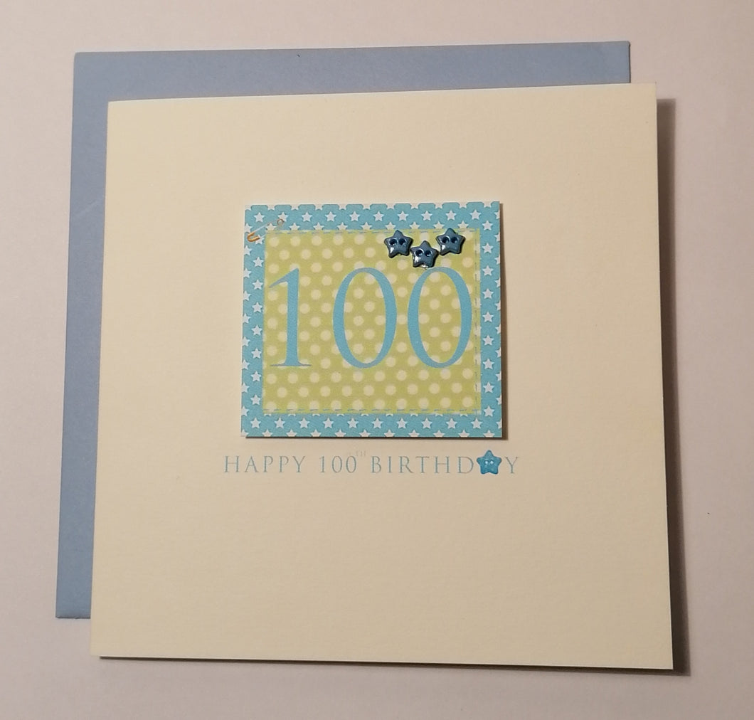100 - A stitch in time