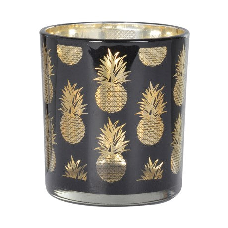 Small Black Pineapple Candleholder