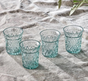 Etched Tumbler Set