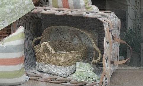 Large Heavy Washed Basket