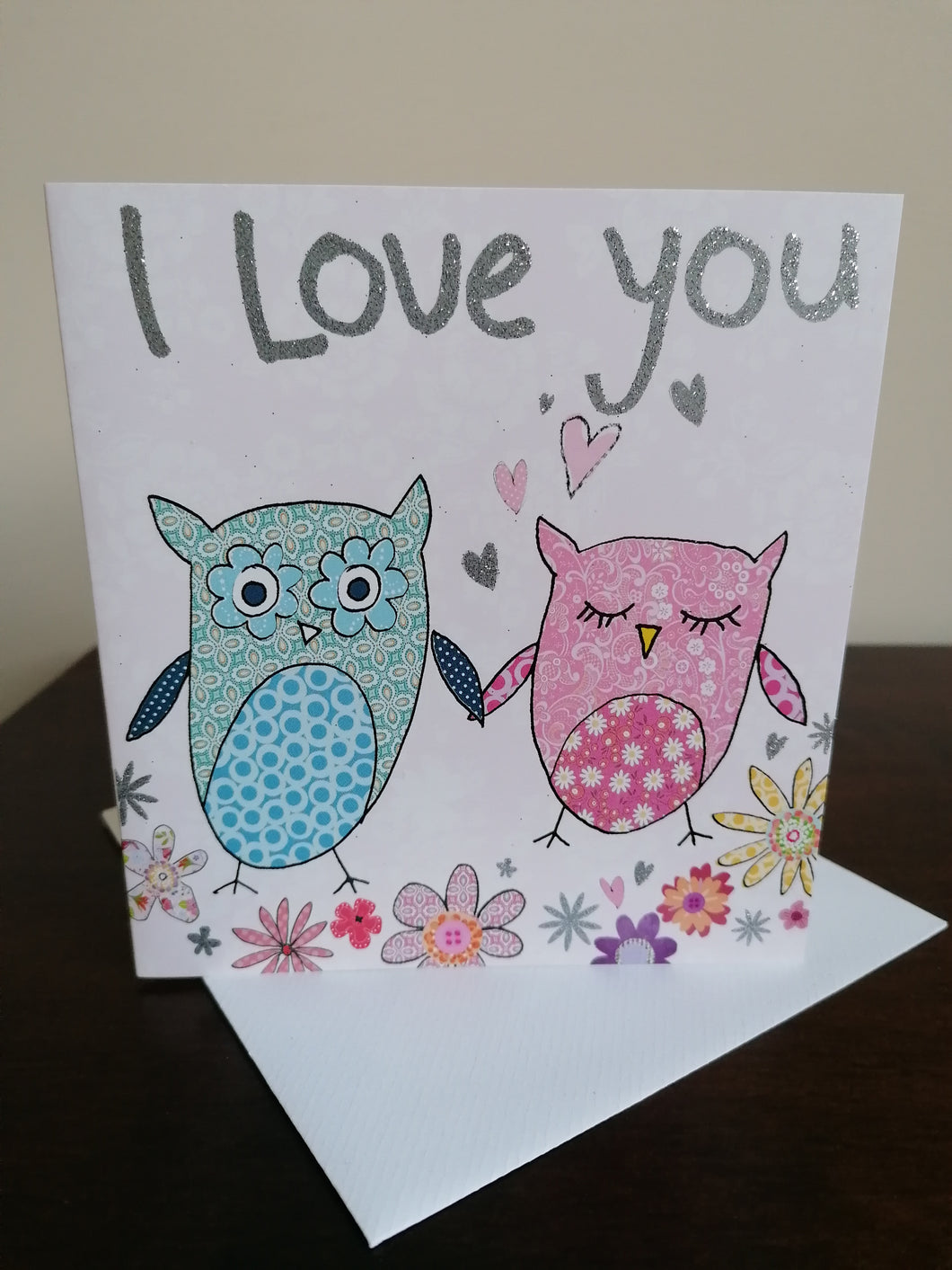 Two Owls I Love You Card