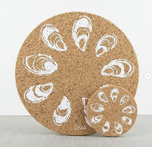Cork Oyster Placemat