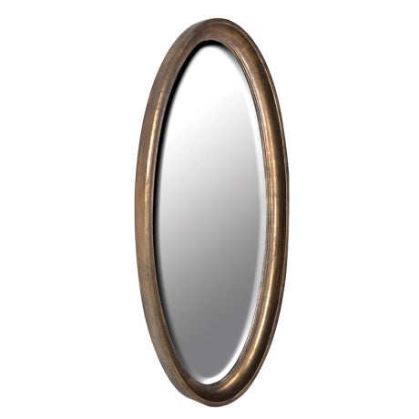Oval Antique Mirror