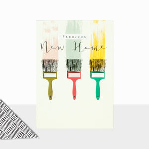 Fabulous New Home (Paintbrushes)