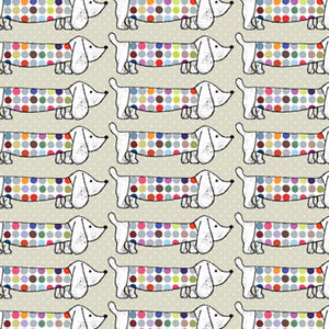 Spotty Dog Wrapping Paper