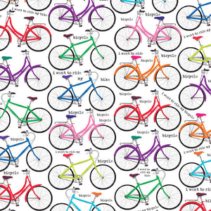 Bicycles Wrapping Paper