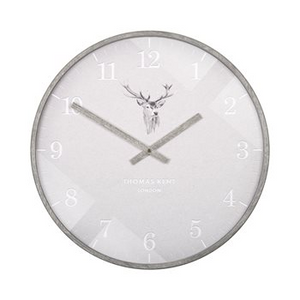"16"" Crofter Wall Clock Stag"