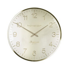 "16"" Greenwich Wall Clock Morning Gold"