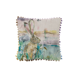 Morning Hare Arthouse Cushion