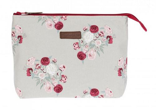 Peony Large Canvas Wash Bag