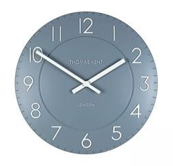 "12"" Townhouse Clock Denim"