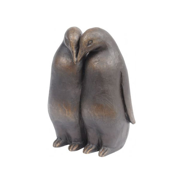 Antique Bronze Penguin Sculpture