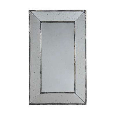 Rectangular Antique Effect Wall Mirror