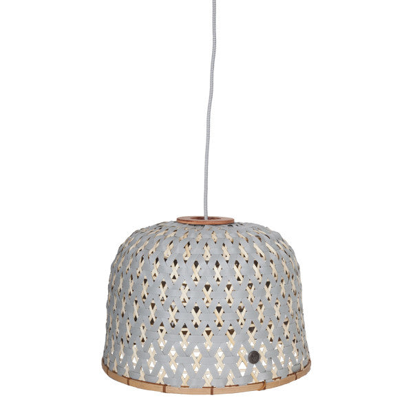 Bamboo Flint Grey Lamp Shade