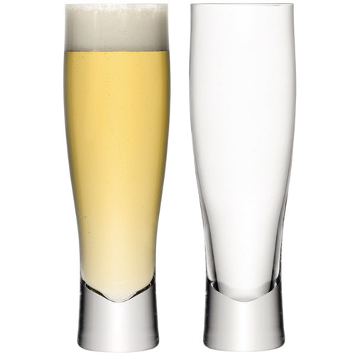 Bar Lager Glass x 2