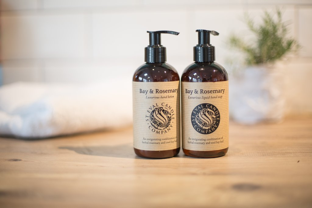 Bay & Rosemary Hand Wash and Lotion Set