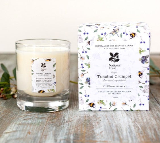 Wildflower Boxed Candle