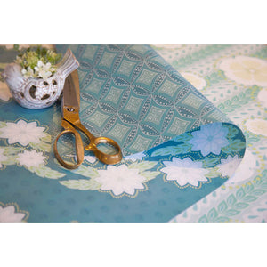 Blue Breeze Gift Wrap - Reverse