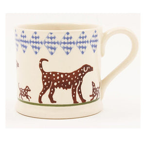 Spotty Dog Small Mug - Brixton Pottery