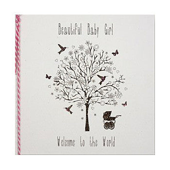 Beautiful Baby Girl Card