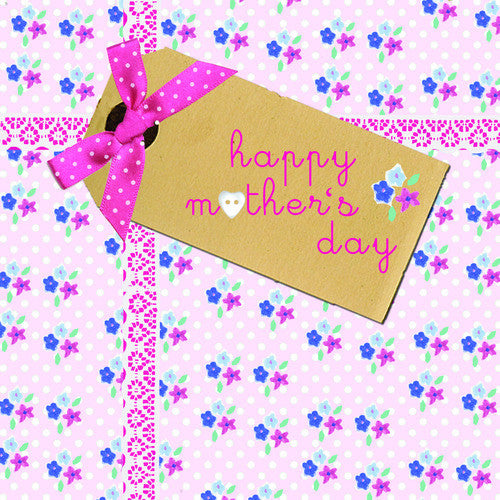 Happy Mother's Day Tag Card
