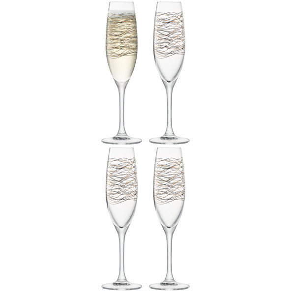 Cocoon Champagne Flute Set