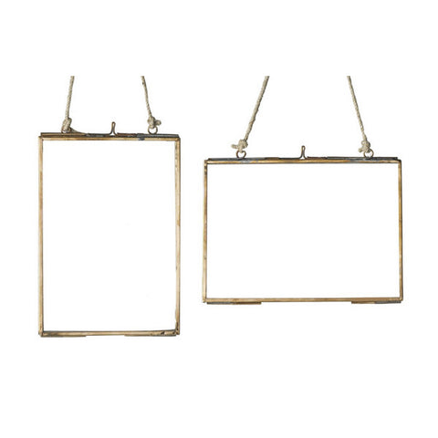 Copper Hanging Photo Frame - Large
