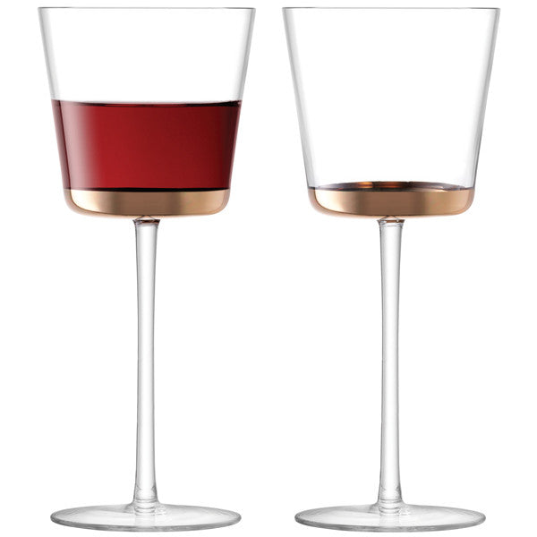 Edge Red Wine Glass x 2 - LSA at Tessera