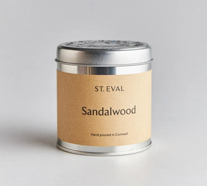 Sandalwood Tin