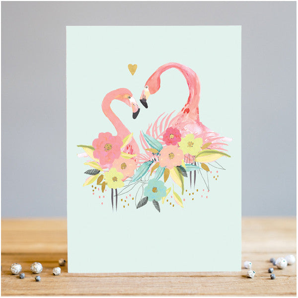 Flamingo Love Card
