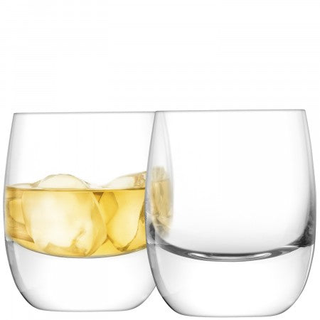 Bar Whisky Tumbler x 2