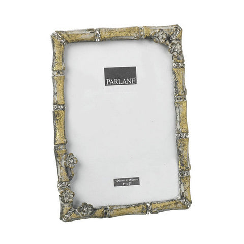 Gold Bamboo Effect Photo Frame