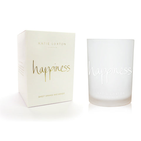 Happiness - Sweet Orange and Mango Candle