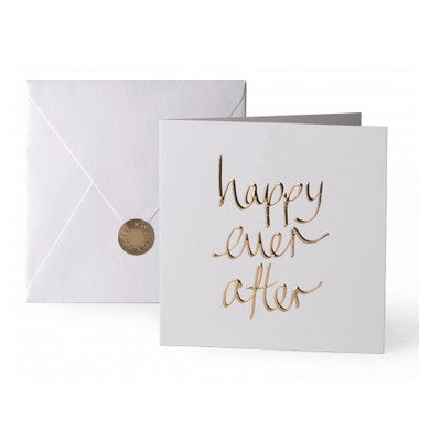 Happy Ever After Golden Card