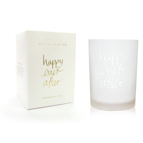 Happy Ever After - Pear and Sweet Pea Candle