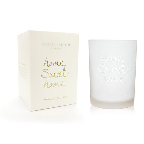 Home Sweet Home - Vanilla and Wild Daisy Candle