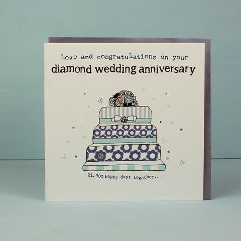 Your Diamond Wedding Anniversary Card